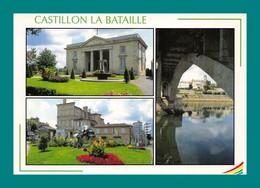 33 Castillon La Bataille ( Multivues, Pont, Dordogne ) - Frankreich