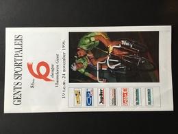 GAND - GENT - 6 Dagen - Wielrennen - Cyclisme - Piste - Programmes