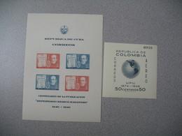 Bloc   N° 1 Et N° 5   Republica De Cuba Y  Colombia   Neuf ** - Colombie