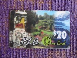 Prepaid Phonecard, Landscape, Used - Canada