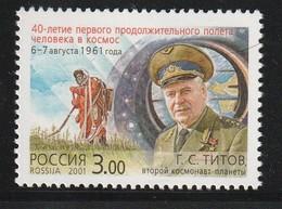 RUSSIE - N°6574 **  (2001) Espace - 1992-.... Fédération