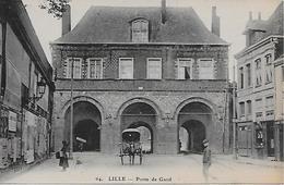 59  LILLE PORTE DE GAND  ANIMEE CHAVAL CALECHE  64 - Lille