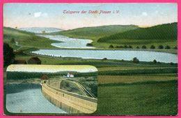 Talsperre Der Stadt Plauen I. V. - 2 Vues - LÖFFLER & Co - Colorisée - 1912 - Plauen