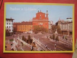 Ljubljana / Laibach - Franziskanerkirche - Slovénie