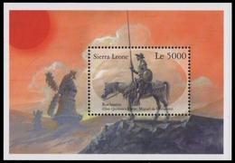 Sierra Leone 2001 - Mi-Nr. Block 532 ** - MNH - Pferde / Horses - Sierra Leone (1961-...)