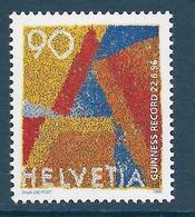 Timbres Neufs** De Suisse, N°1512, Courrier Prioritaire, Lettre A - Neufs