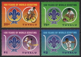 Tuvalu 2007 - Mi-Nr. 1345-1348 ** - MNH - Pfadfinder / Scouts - Tuvalu