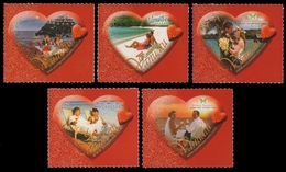 Vanuatu 2009 - Mi-Nr. 1378-1382 ** - MNH - Valentinstag - Vanuatu (1980-...)