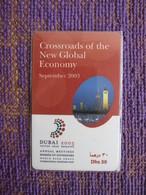 Prepaid Phonecard, Dubai 2003 Annual Meetings Boards Of Governors,used - United Arab Emirates