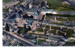 CPSM PF 49 - BAUGE  (Maine Et Loire) - 10. L'Hôpital Où Se Tient La Pharmacie (XVIIe S.) - Other Municipalities