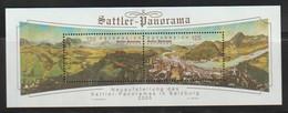H 117) Österreich 2005 Mi# 2557-2558 Block 31 **: Sattler-Panorama - Geographie