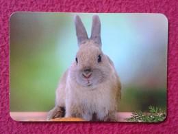 CALENDARIO DE BOLSILLO CALENDAR RABBIT LAPIN LIÈVRE HARE HASE LIEBRE CONEJO RABBITS CONEJOS VER FOTO/S Y DESCRIPCIÓN - Calendarios