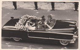 """Bruxelles 1999   """"  Mariage Princier Mathilde - Philippe  Dans La Buick  Au Cortège   """" - Personnages Célèbres"""