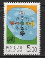 RUSSIE - N°6598 A **  (2001)  Dialogue Entre Les Civilisations - Unused Stamps