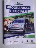Lib454 Programma Ufficiale Mappa Prove Speciali Rally Lana 2018 Biella Sport Peugeot 206 Automobilismo - Car Racing - F1
