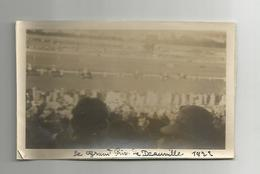 Photographie 14 Calvados Deauville Grand Prix Courses Chevaux 1922  Photo Collée Sur Papier 7x11 Cm Env - Places