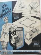 CATALOGUE DE 1949 . AU  BON  MARCHE .MAISON A. BOUCICAUT . PARIS .ARTICLES DIVERS POUR LA MAISON . - Publicités