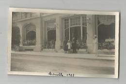 Photographie 14 Calvados Trouville 1922  Photo Collée Sur Papier 7x11 Cm Env - Places
