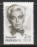 RUSSIE - N°6599 **  (2001)  Acteur : A.I.Raikin - 1992-.... Fédération