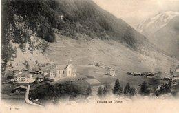 74 Haute Savoie : Village De Trient - France