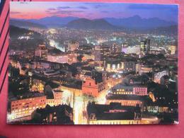 Ljubljana / Laibach - Abend-Panorama - Slowenien
