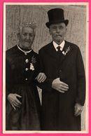 Cp Photo Toilée - Couple De Mariés ? - Origine à Définir - Couples