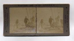 LOT 10 ANTIQUE STEREORCOPIC PHOTO ARGENTINA PROVINCIA BUENOS AIRES MAR DE LA PLATA ARROYO GRANDE NARANJAL 1908 1922 - Stereoscopio