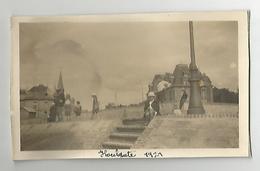 Photographie 14 Calvados Houlgate 1921  Photo Collée Sur Papier 7x11 Cm Env - Places