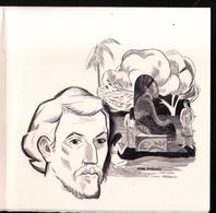 Paul Gauguin, Gavure En Taille Douce Format 17,5 X 17,5cm De Claude Durrens Sur Velin D'Arches - Documents Of Postal Services