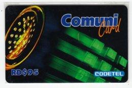 DOMINICAN REP. A-032 Prepaid Codetel - In Blister - Dominicana
