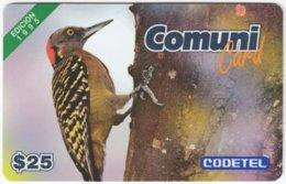 DOMINICAN REP. A-033 Prepaid Codetel - Animal, Bird - Used - Dominicana