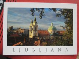 Ljubljana / Laibach - Pogled Z Gradu Na Ljublansko Stolnico - Slovénie