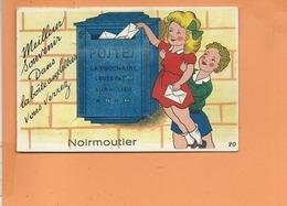 Carte à Système - Meilleur Souvenir Dans La Boite Aux Lettres Vous Verrez NOIRMOUTIER - Ile De Noirmoutier - Noirmoutier