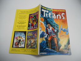 TITANS N°67 EDITION LUG STAR WARS LA GUERRE DES ETOILES  MIKROS DAZZLER LES NOUVEAUX MUTANTS - Titans