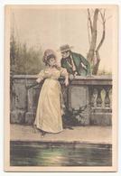 COUPLE AVEC FEMME QUI PECHE - Couples