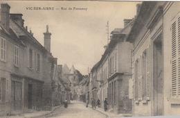 02- Vic Sur Aisne  Rue De Fontenoy - Vic Sur Aisne