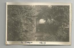 Photographie 94 Villeneuve Le Roi 1925 Le Kiosque Photo Collée Sur Papier 7x11 Cm Env - Places
