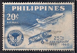 Philippines 1960 - Airmail - The 25th Anniversary Of Philippine Air Force - Filipinas