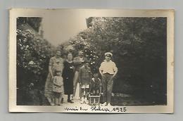 Photographie 94 Villeneuve Le Roi 1925 Quai Du Halage Photo Collée Sur Papier 7x11 Cm Env - Places