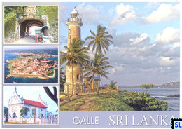 Sri Lanka Postcards, Galle Fort, UNESCO, Lighthouse, Postcrossing - Sri Lanka (Ceylon)