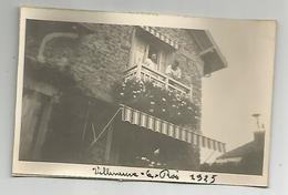 Photographie 94 Villeneuve Le Roi 1925  Photo Collée Sur Papier 7x11 Cm Env - Places