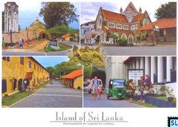 Sri Lanka Postcards, Galle Fort, UNESCO, Postcrossing - Sri Lanka (Ceylon)