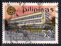 Philippines 1969 - The 50th Anniversary Of Jose Rizal College - Mandaluyong, Rizal, Philippines - Philippines
