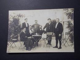 Carte Postale - Groupe Hommes - Photo à Localiser - (2577) - Photographie