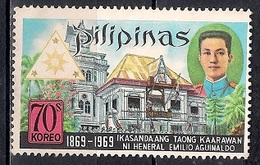 Philippines 1969 - The 100th Anniversary Of The Birth Of President Amilio Aguinaldo, 1869-1964 - Filipinas