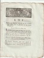 Loi Relative Aux Emprunts... - Decrees & Laws