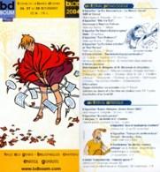 PELLEJERO MARGERIN : Depliant Salon BLOIS 2004 - Livres, BD, Revues