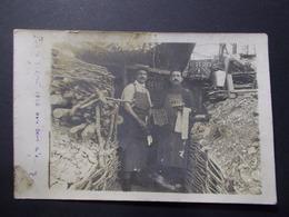 Carte Postale - Groupe Hommes - Photo à Localiser - 1916 (2578) - Photographie
