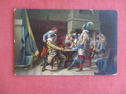 Stengel Co.   Soldiers Gambling      Ref 3129 - Militaria