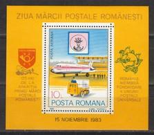Rumänien; 1983; Michel Block 195 **; 125 Jahren Rumänische Briefmarken - 1948-.... Republics